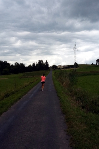 Bieganie w Beskidzie - 3 dzień
