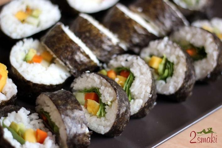 Sushi wegańskie