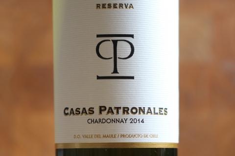 Casas Patronales Chardonnay Reserva 2014