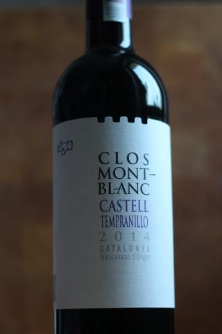 Clos Mont-Blanc Castell Tempranillo 2014