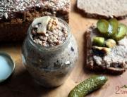 Pasta z kaszy gryczanej i pieczarek