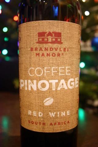 Brandvlei Manor Coffee Pinotage