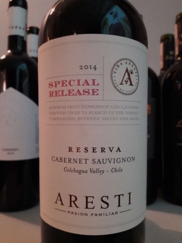 Aresti Cabernet Reserva Special Release 2014
