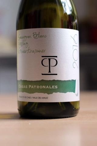 Casas Patronales Sauvignon Blanc Riesling Gewurztraminer