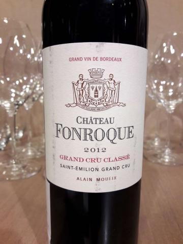 Chateau Fonroque 2012