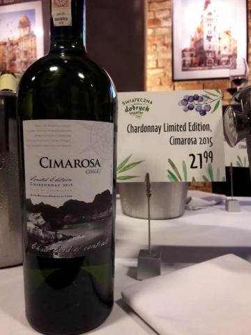 Cimarosa Chardonnay Limited Edition 2015