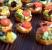 Kanapeczki na pieczonych batatach
