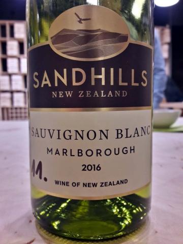 Sandhills Sauvignon Blanc 2016
