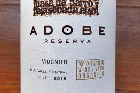 Emiliana Adobe Viognier Reserva 2015