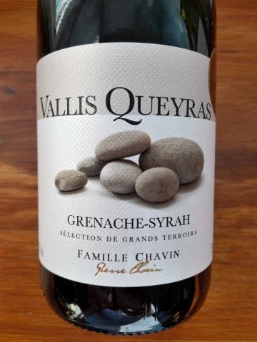 Grenache Syrah Vallis Queyras