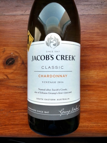 Jacobs Creek Classic Chardonnay 2016
