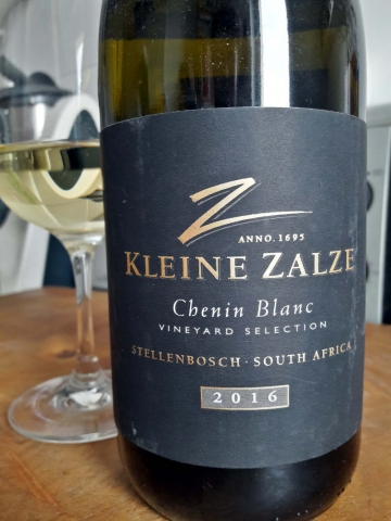 Kleine Zalze Chenin Blanc Vineyard Selection Barrel Fermented 2016