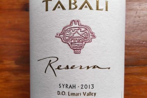 Tabali Reserva Syrah 2013