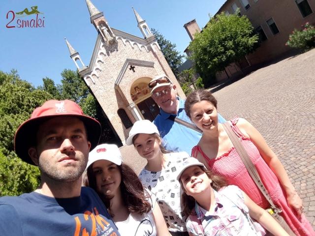 Camposampiero, spacer, Sanktuarium Świętego Antoniego