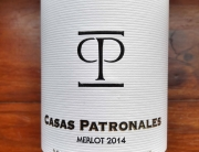 Casas Patronales Merlot Reserva 2014