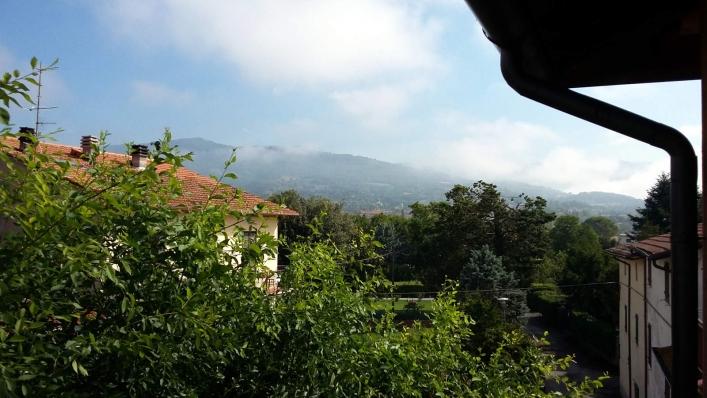 Toskania, widok z okna