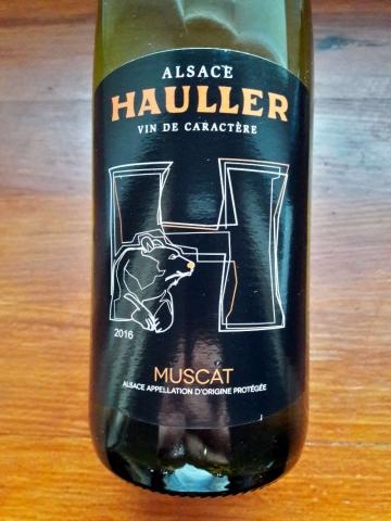 Hauller Alsace Muscat 2016