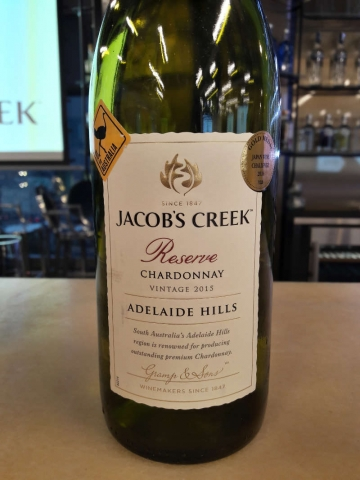 Jacobs Creek Adelaide Hills Chardonnay Reserve 2015