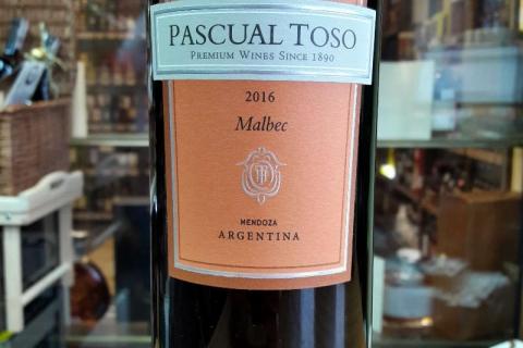 PASCUAL TOSO MALBEC 2016