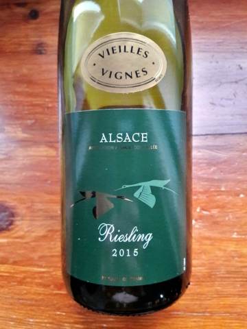 SCVB Alsace Vieilles Vignes Riesling 2015