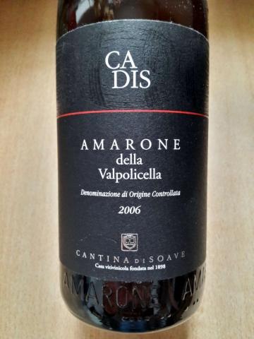Cadis Amarone della Valpolicella 2006