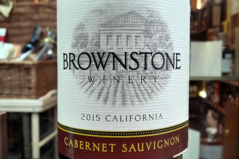 Brownstone Cabernet Sauvignon 2015