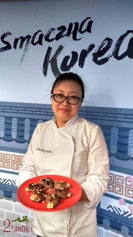 Smaczna Korea - warsztaty z Inessą Kim. Tteok galbi