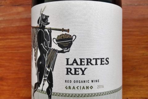 Laertes Rey Graciano Bodega Las Cepas 2016