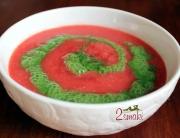 Chłodnik pomidorowo-ogórkowy