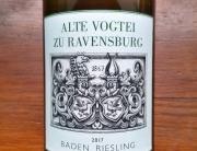 Alte Vogtei zu Ravensburg Riesling