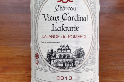Chateau Vieux Cardinal Lafaurie 2013