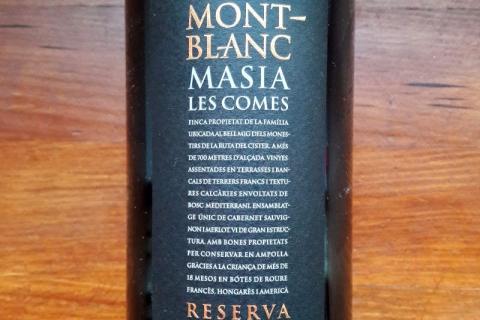 Clos Mont-Blanc Masia Les Comes Reserva